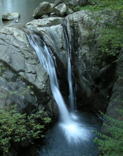 神戸、布引、夫婦滝にて