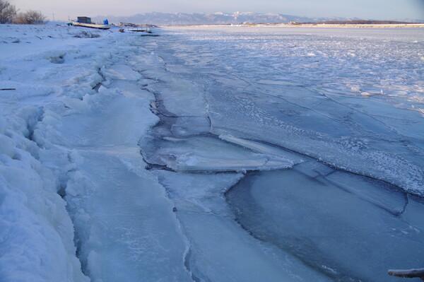繰り返す結氷