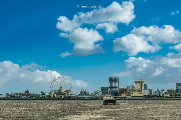 名古屋港水族館を望む