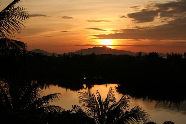 ホイアンの朝陽