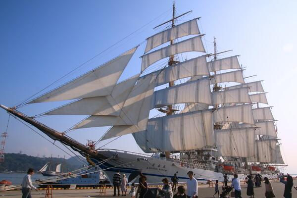 日本丸 in 帆船フェスタ2015 広島
