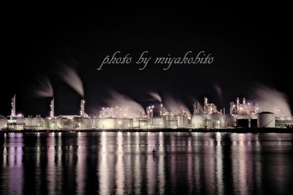 夜間工場見学
