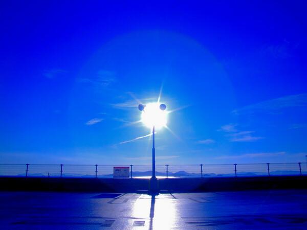 【淡】い太陽