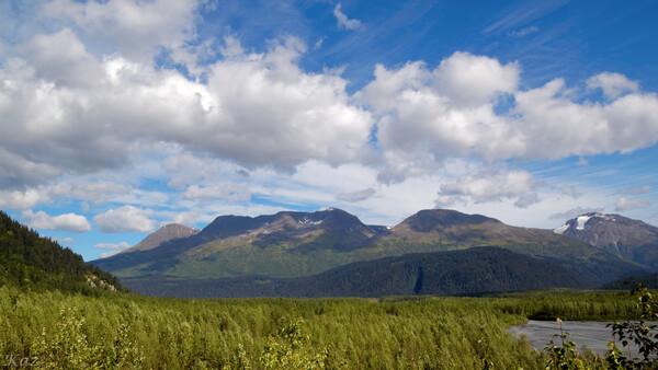 アラスカ風景