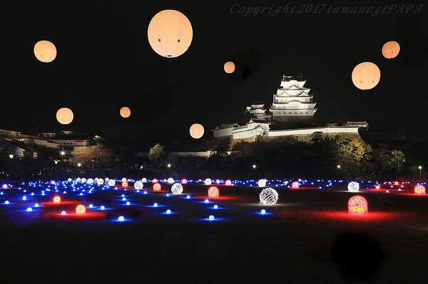 姫路城 ミックスライトバージョン