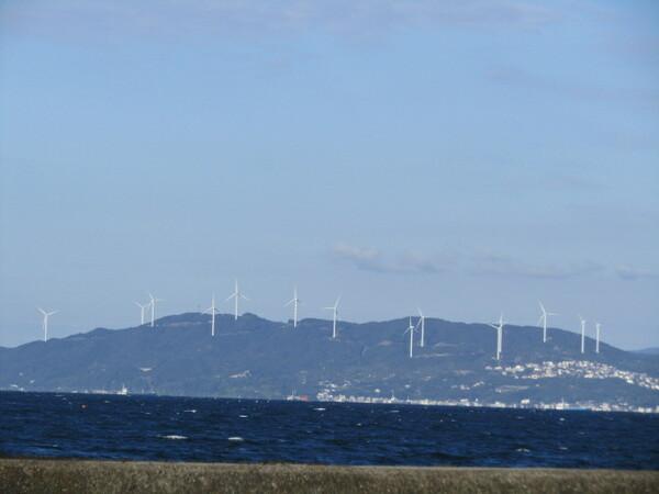 風力発電&鳴門海峡