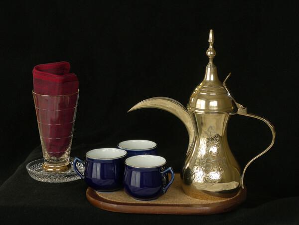【金】アラビア風のコーヒーポット