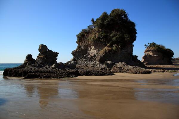 薩摩川内市人形岩
