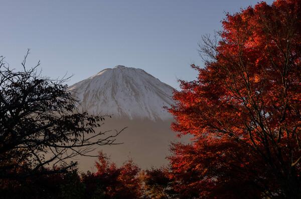 目前の富士