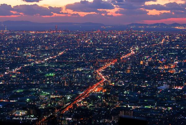 生駒からの夜景(蔵出し・・・)