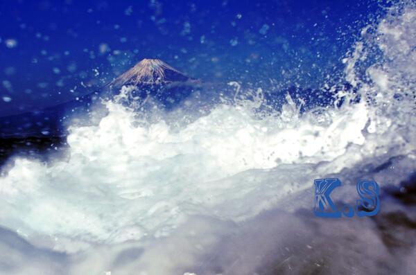 波撮り富士