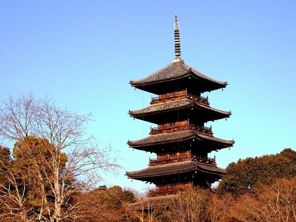 【天】五重塔
