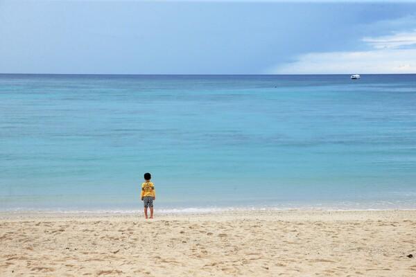 海だ・・・・
