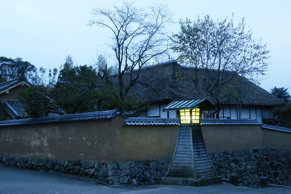 【ノスタルジー】日没時の家老屋敷