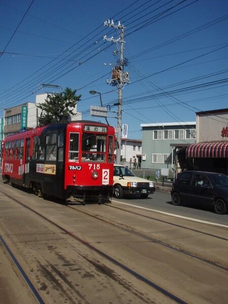 函館の電車