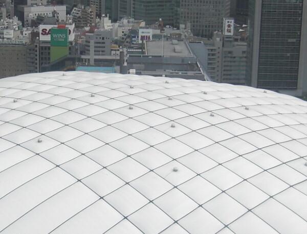東京ドームの屋根