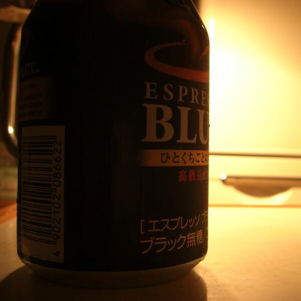 【燃】夏の夜の缶コーヒー