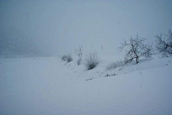 雪国らしくなりました。