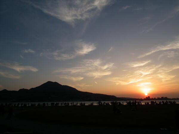 淡水の夕日