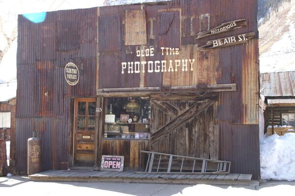 【古】写真店