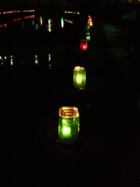 手作り灯籠