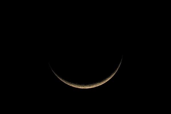 ひな祭りの夕月