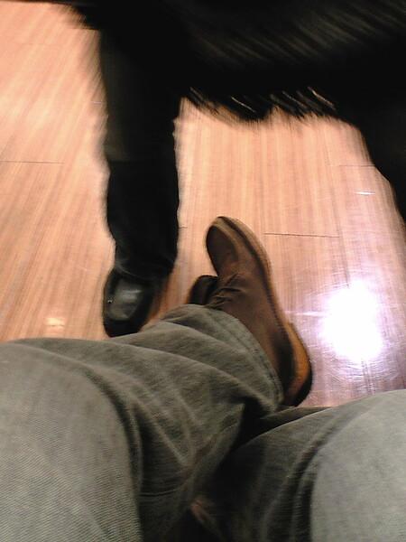 【靴】 終わった?